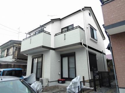 外壁塗装 屋根遮熱シリコン塗装シュミレーション