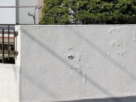 門塀塗装膨れあり