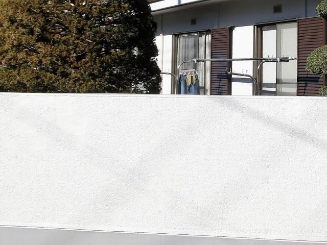 門塀塗装完了