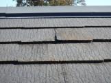 スレートの屋根の状態