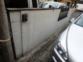 門塀 塗装前