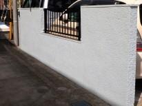 門塀 塗装後