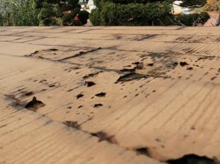 屋根のイタミ