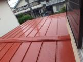 瓦棒屋根葺き替え工事(ガルバリウム鋼鈑)2